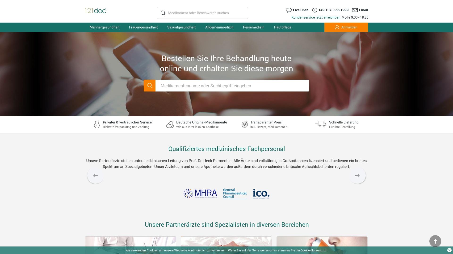 Gutschein für 121doc: Rabatte für  121doc sichern