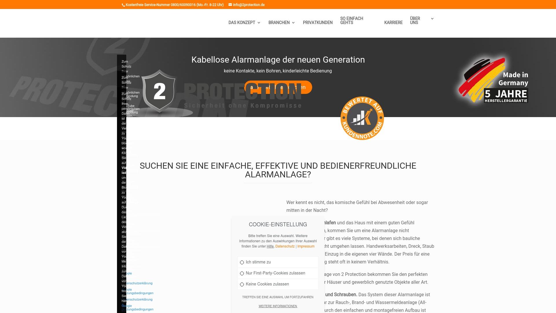 Gutschein für 2protection: Rabatte für  2protection sichern