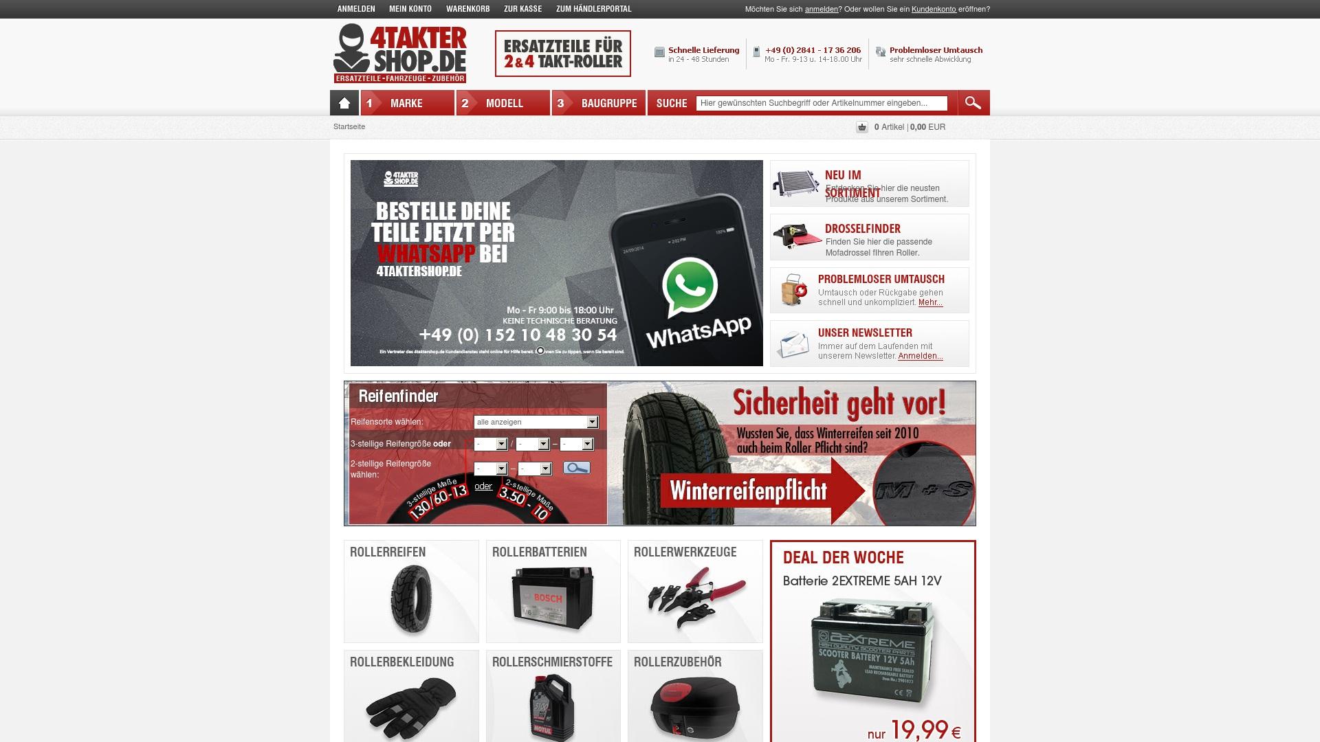 Gutschein für 4taktershop: Rabatte für  4taktershop sichern