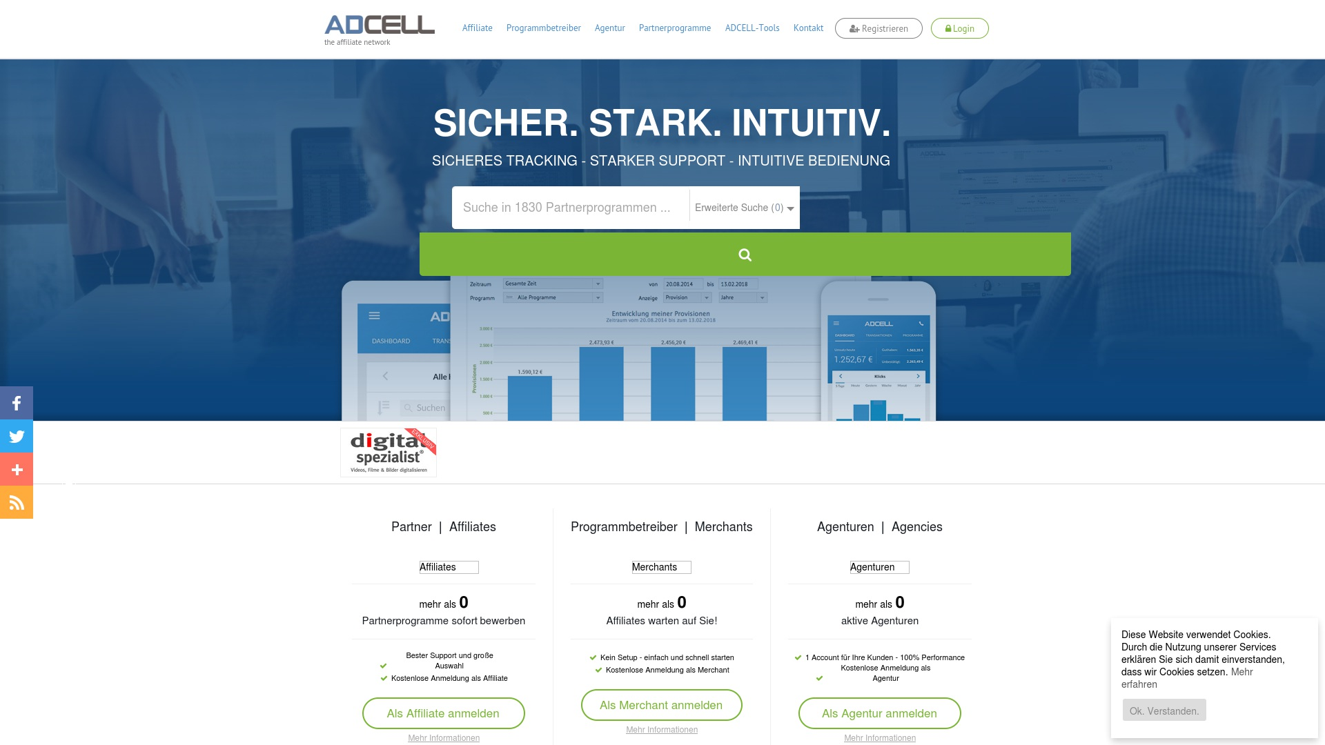 Gutschein für Adcell: Rabatte für  Adcell sichern
