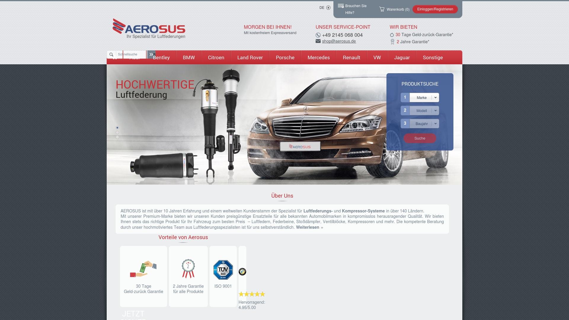 Gutschein für Aerosus: Rabatte für  Aerosus sichern