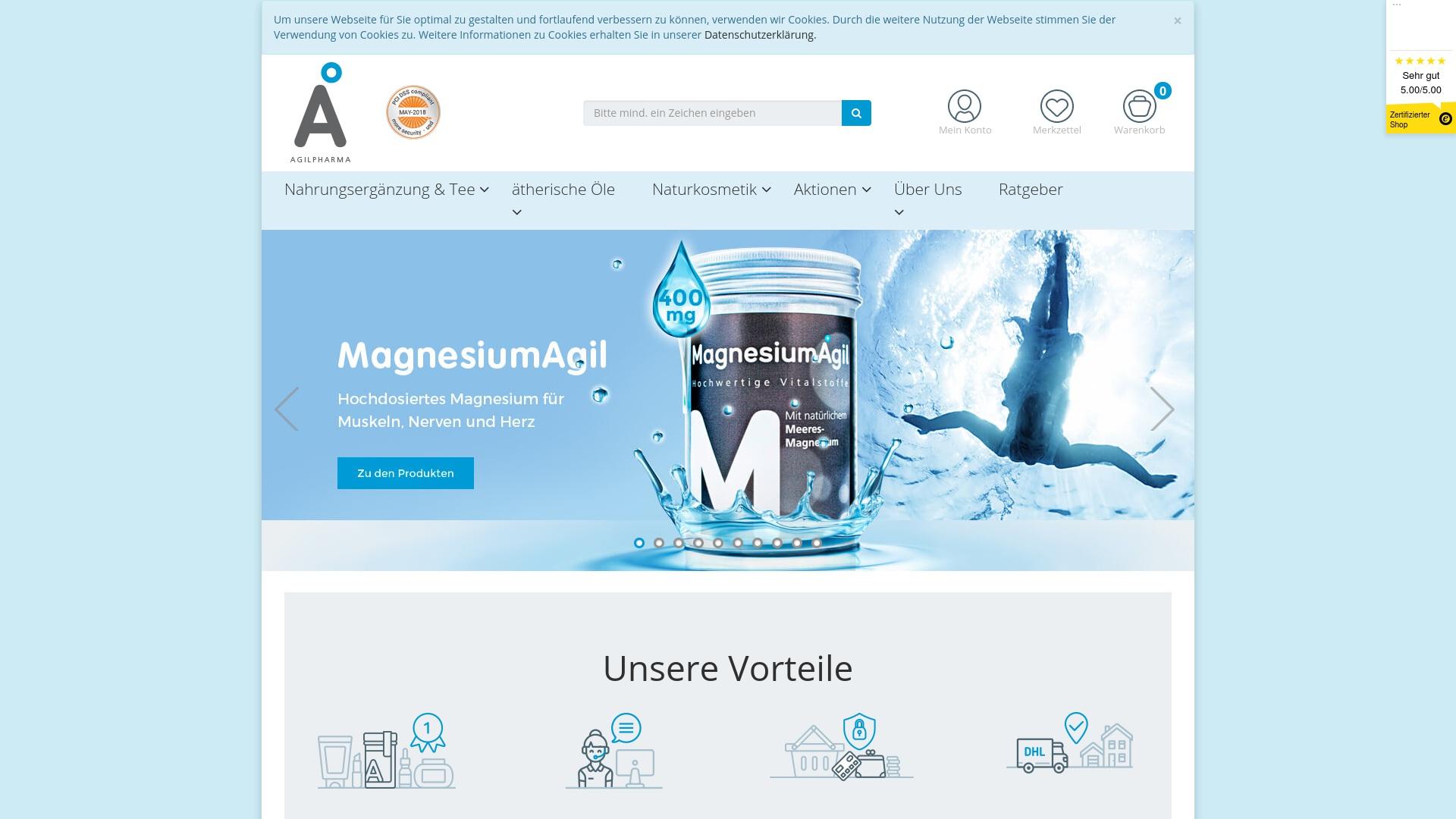 Gutschein für Agilpharma: Rabatte für  Agilpharma sichern