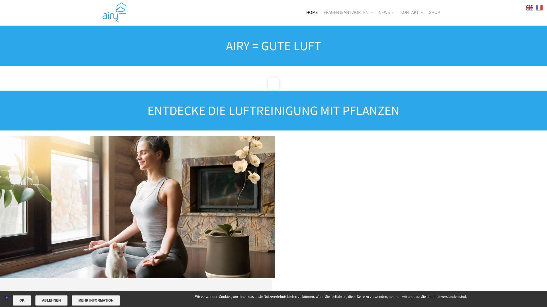 Gutschein für Airy: Rabatte für  Airy sichern