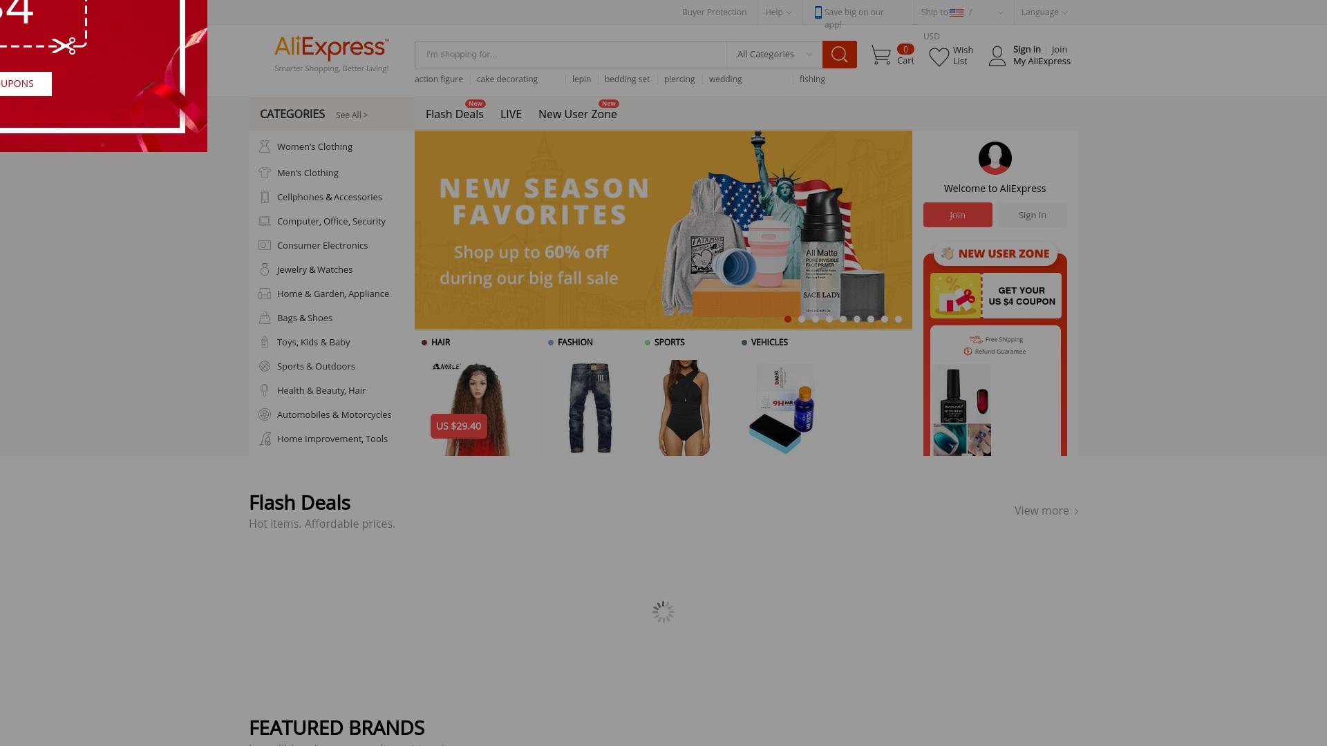 Gutschein für Aliexpress: Rabatte für  Aliexpress sichern