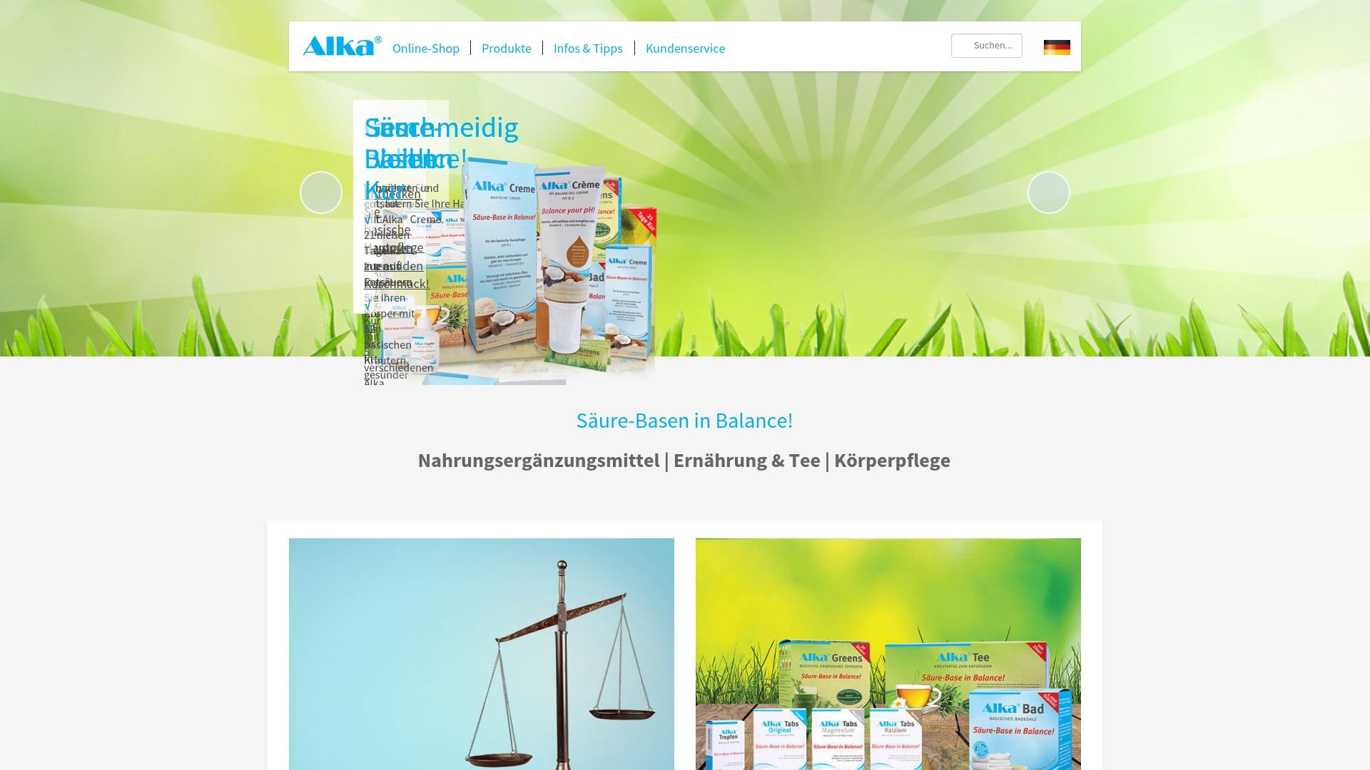 Gutschein für Alkavitae: Rabatte für  Alkavitae sichern