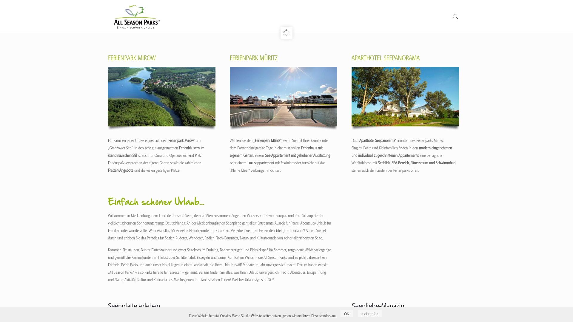 Gutschein für Allseasonparks: Rabatte für  Allseasonparks sichern