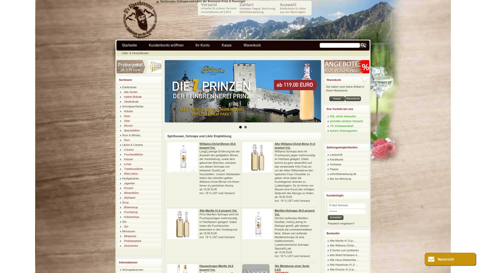 Gutschein für Alpenbrenner: Rabatte für  Alpenbrenner sichern