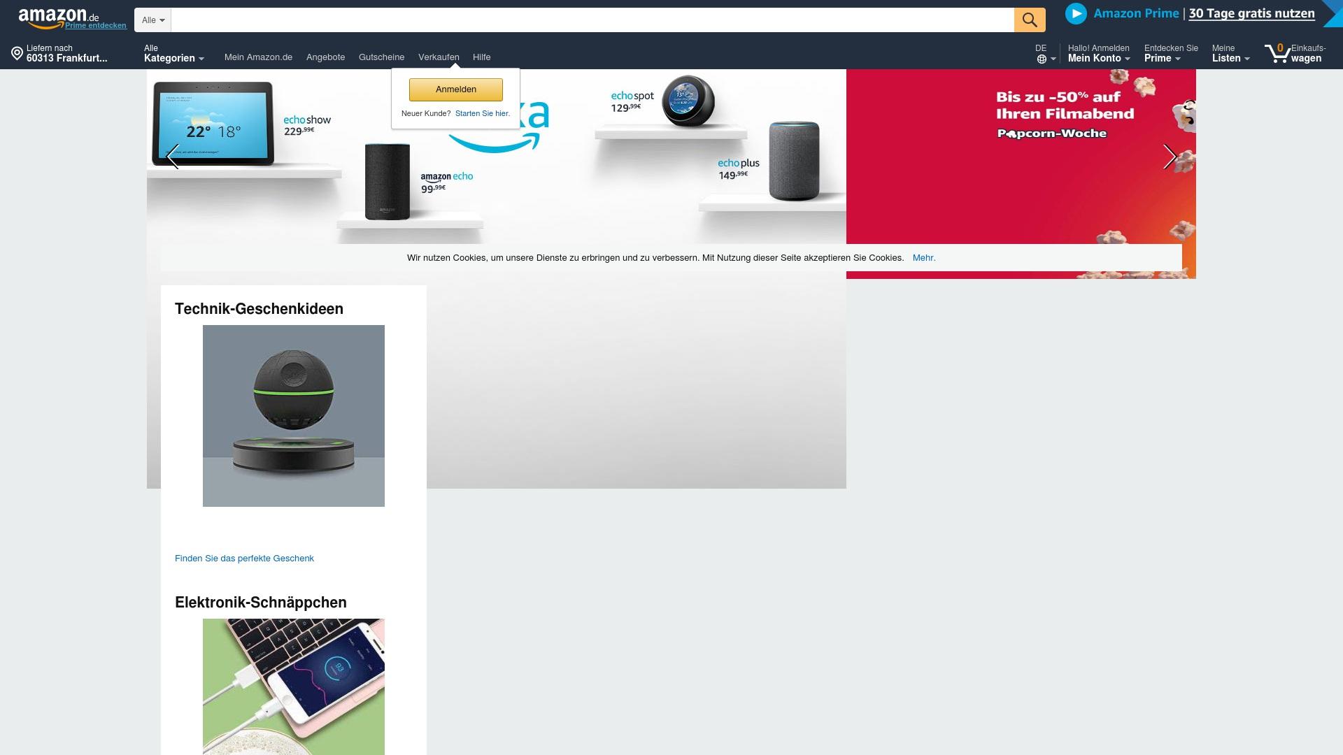 Gutschein für Amazon: Rabatte für  Amazon sichern