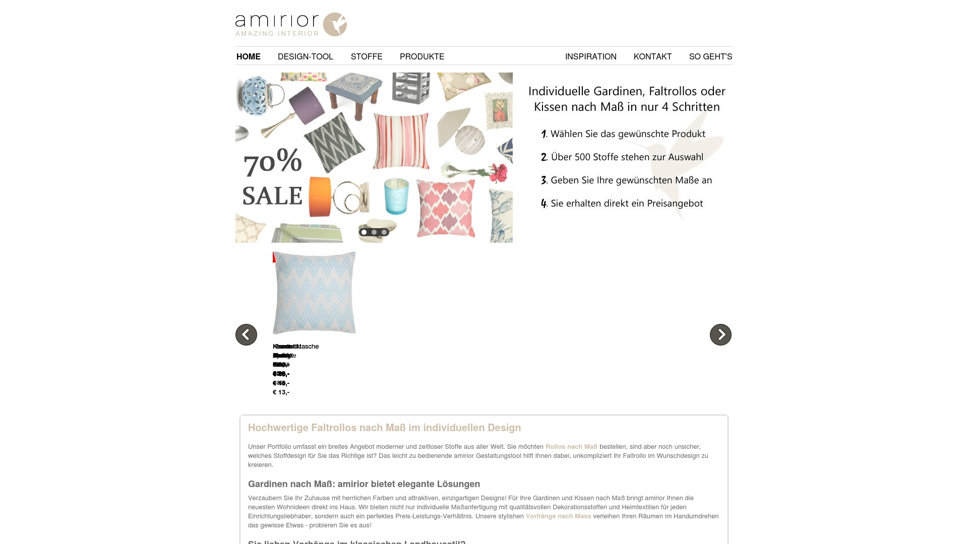 Gutschein für Amirior: Rabatte für  Amirior sichern