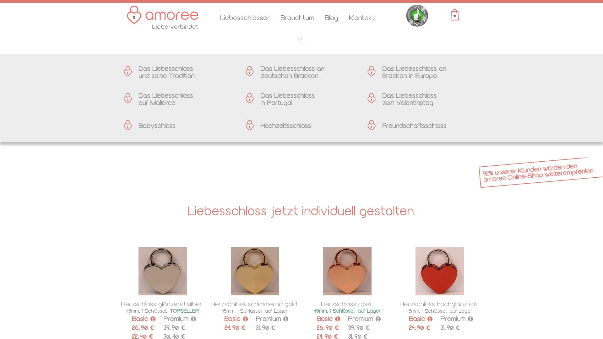 Gutschein für Amoree: Rabatte für  Amoree sichern
