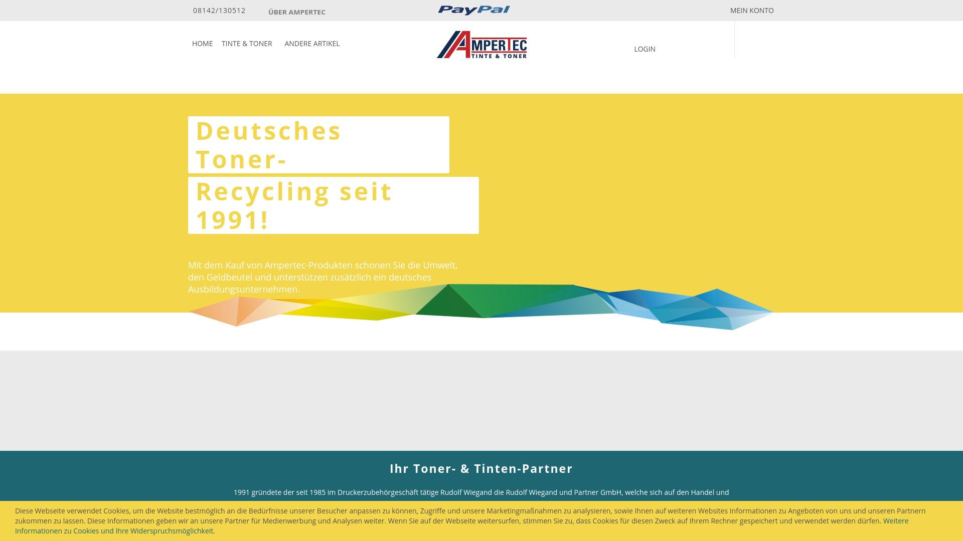 Gutschein für Ampertec: Rabatte für  Ampertec sichern