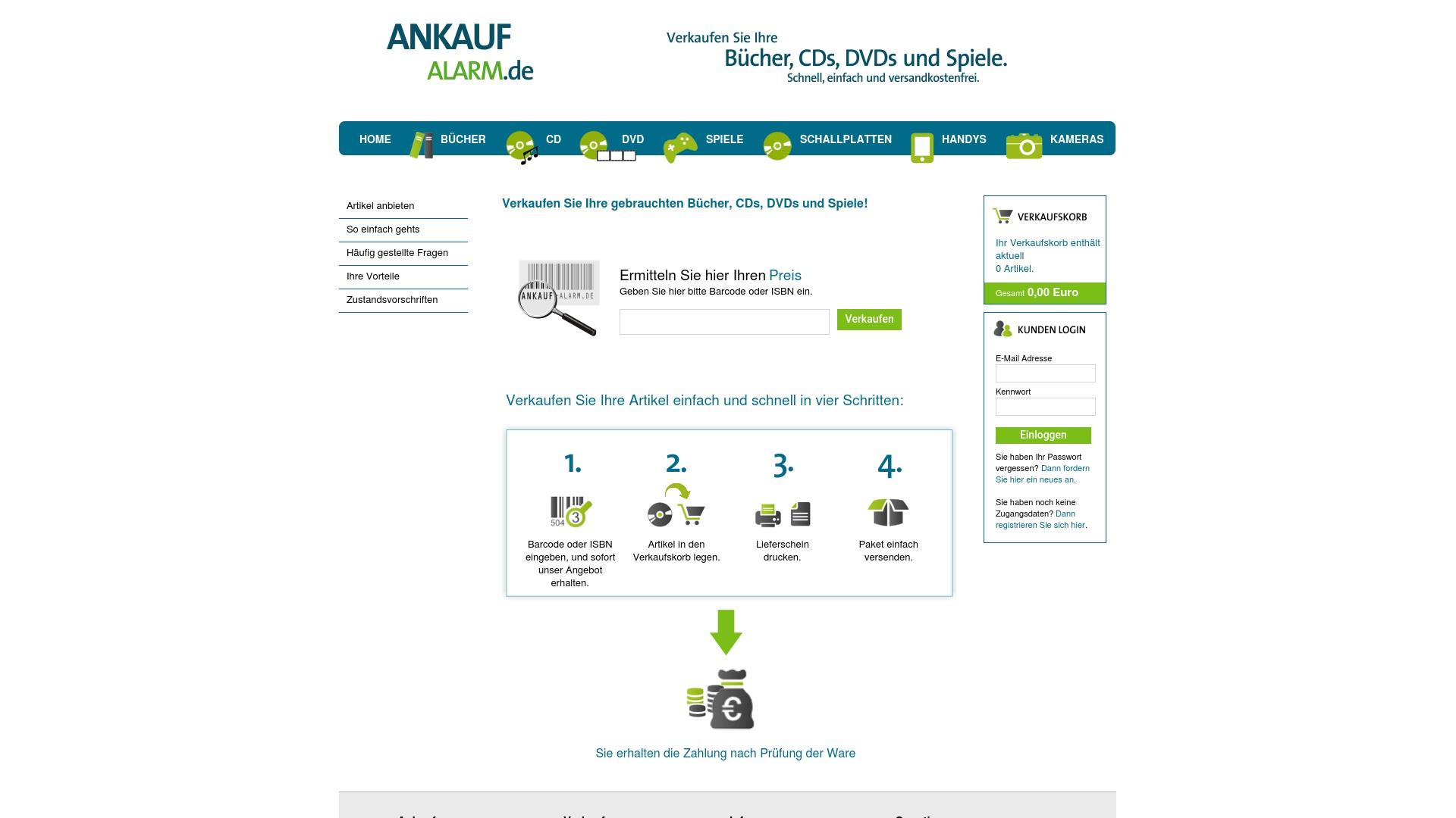 Gutschein für Ankaufalarm: Rabatte für  Ankaufalarm sichern