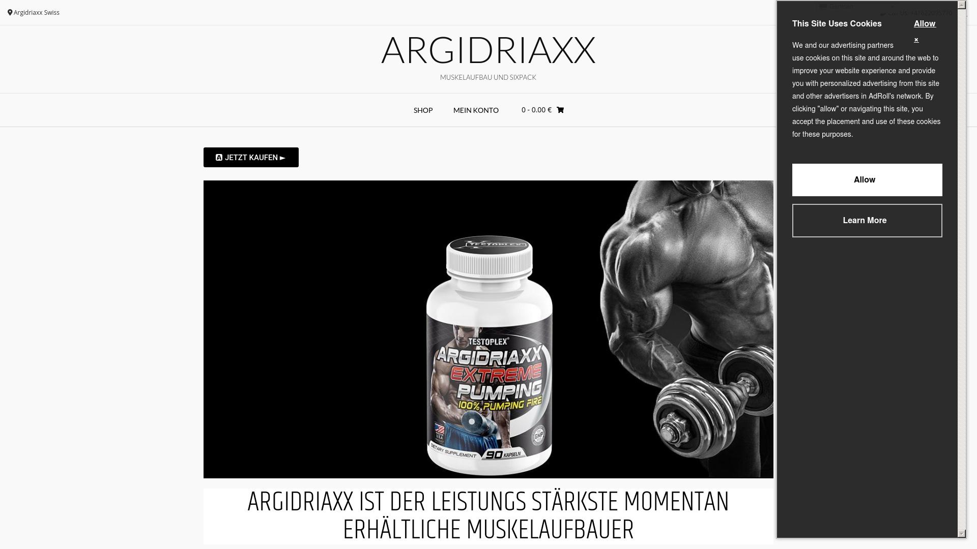 Gutschein für Argidriaxx: Rabatte für  Argidriaxx sichern
