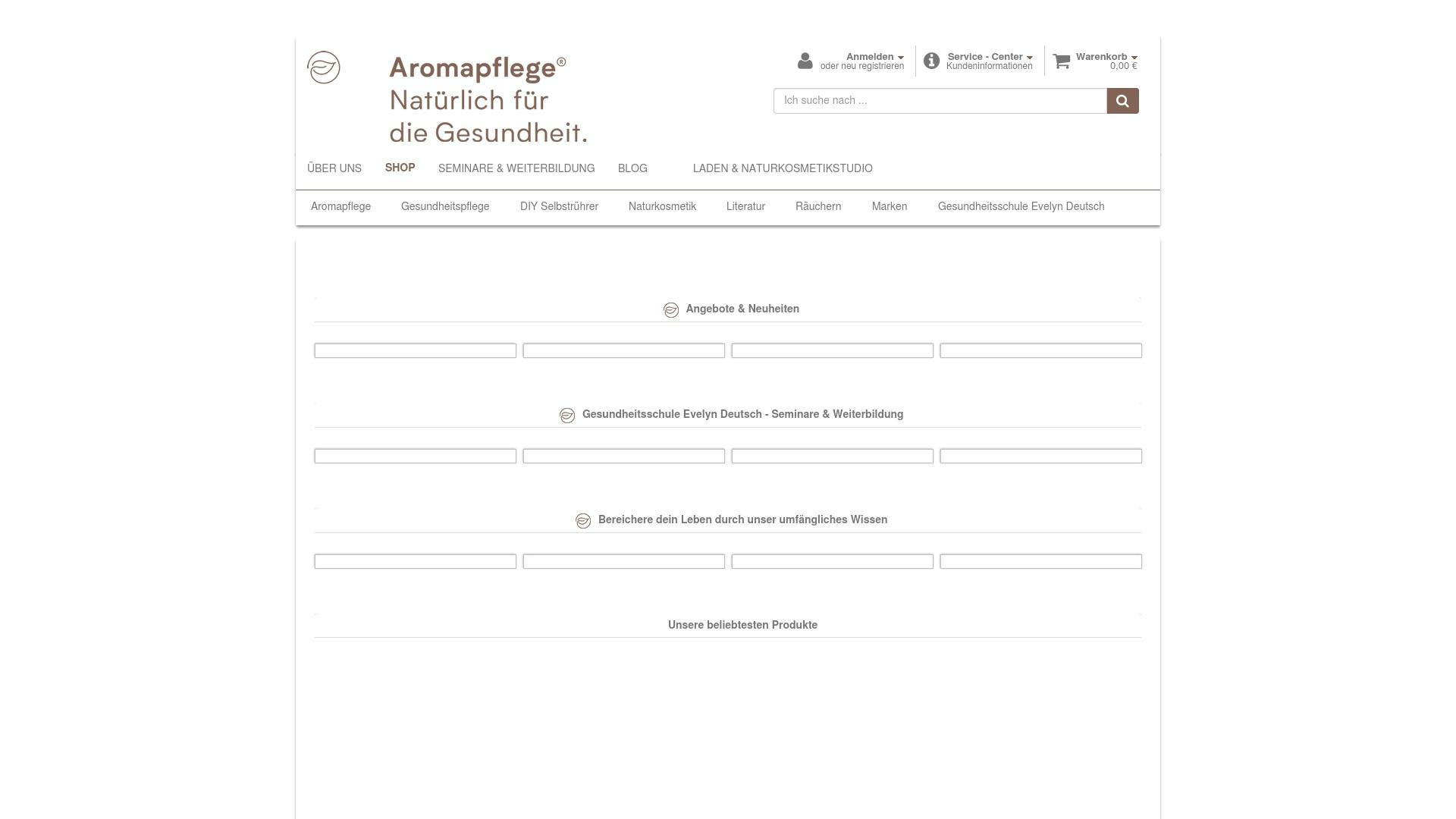 Gutschein für Aromapflege: Rabatte für  Aromapflege sichern