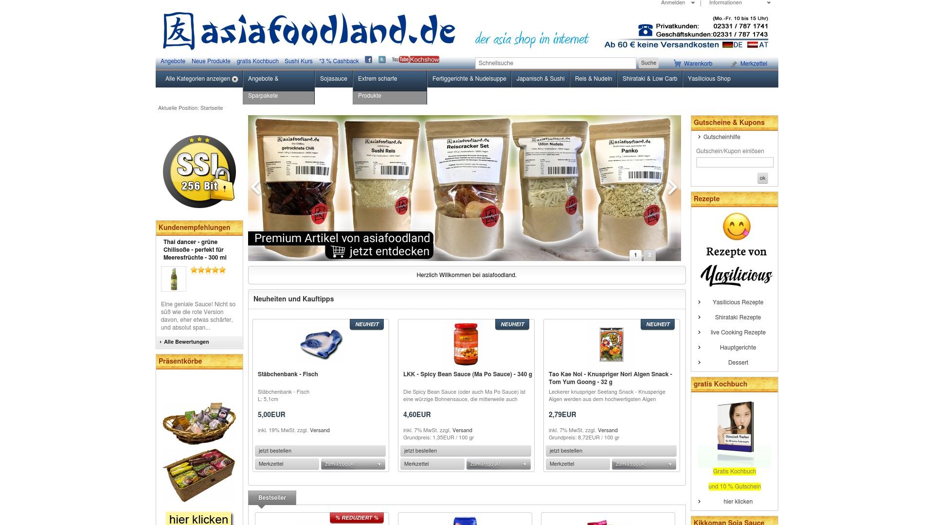 Gutschein für Asiafoodland: Rabatte für  Asiafoodland sichern