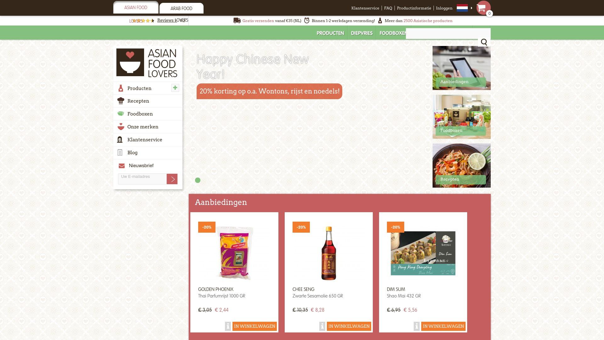 Gutschein für Asianfoodlovers: Rabatte für  Asianfoodlovers sichern