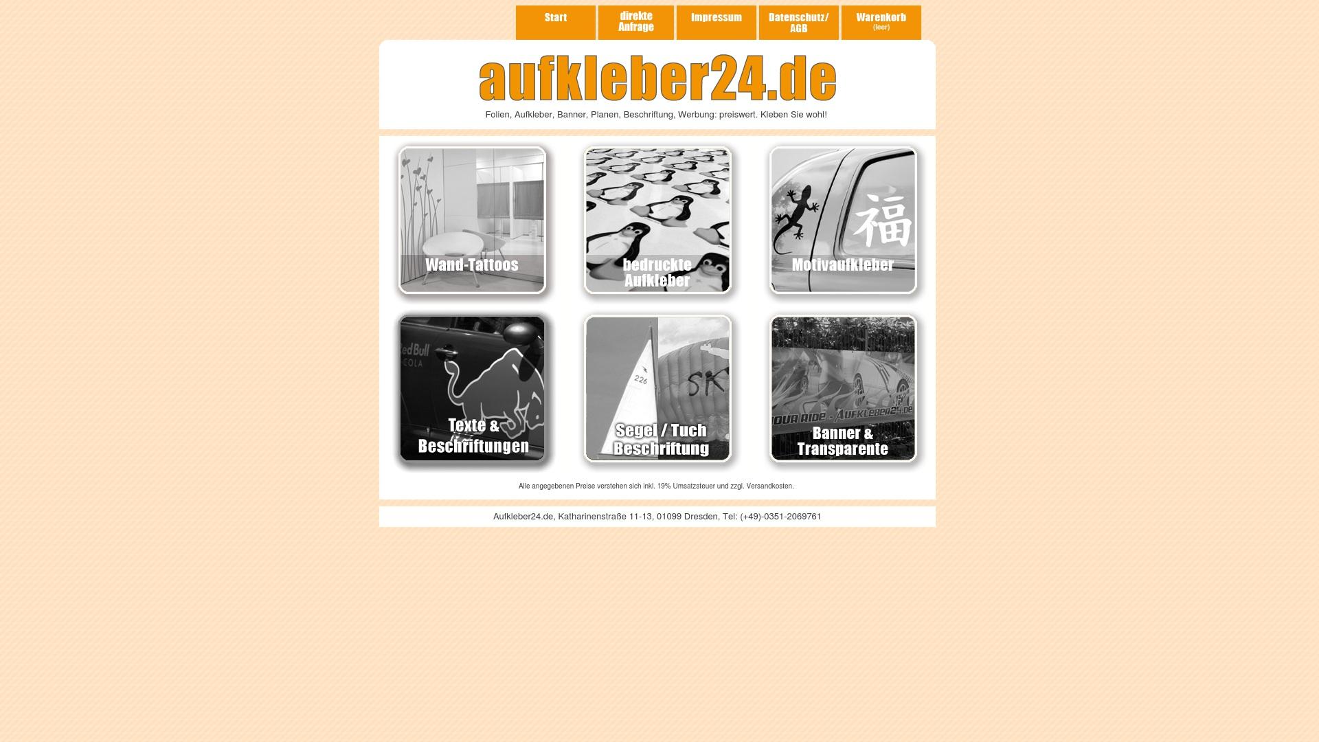 Gutschein für Aufkleber24: Rabatte für  Aufkleber24 sichern