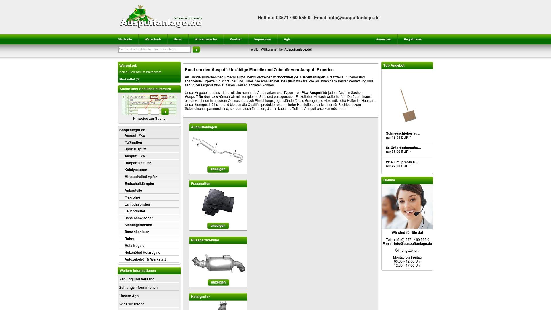 Gutschein für Auspuffanlage: Rabatte für  Auspuffanlage sichern