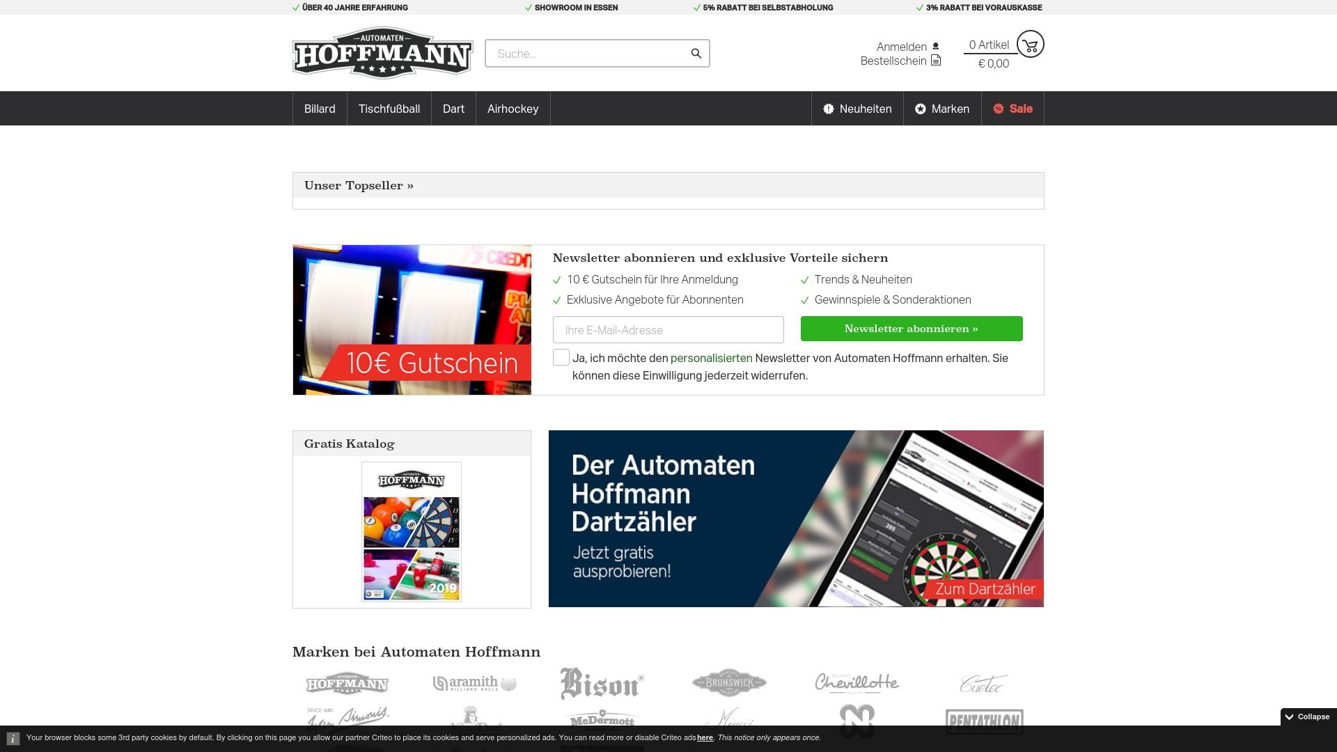 Gutschein für Automaten-hoffmann: Rabatte für Automaten-hoffmann sichern