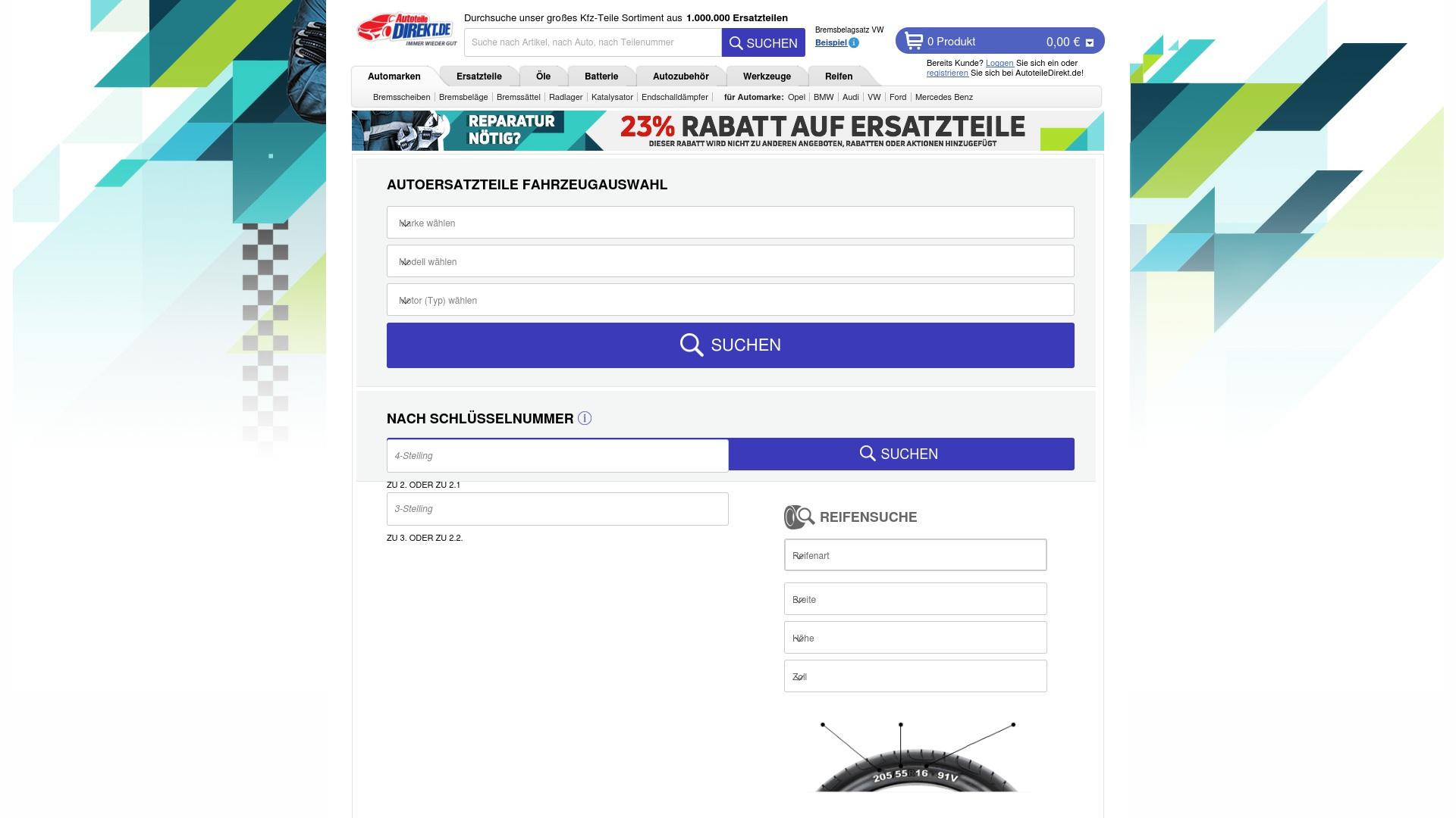 Gutschein für Autoteiledirekt: Rabatte für  Autoteiledirekt sichern