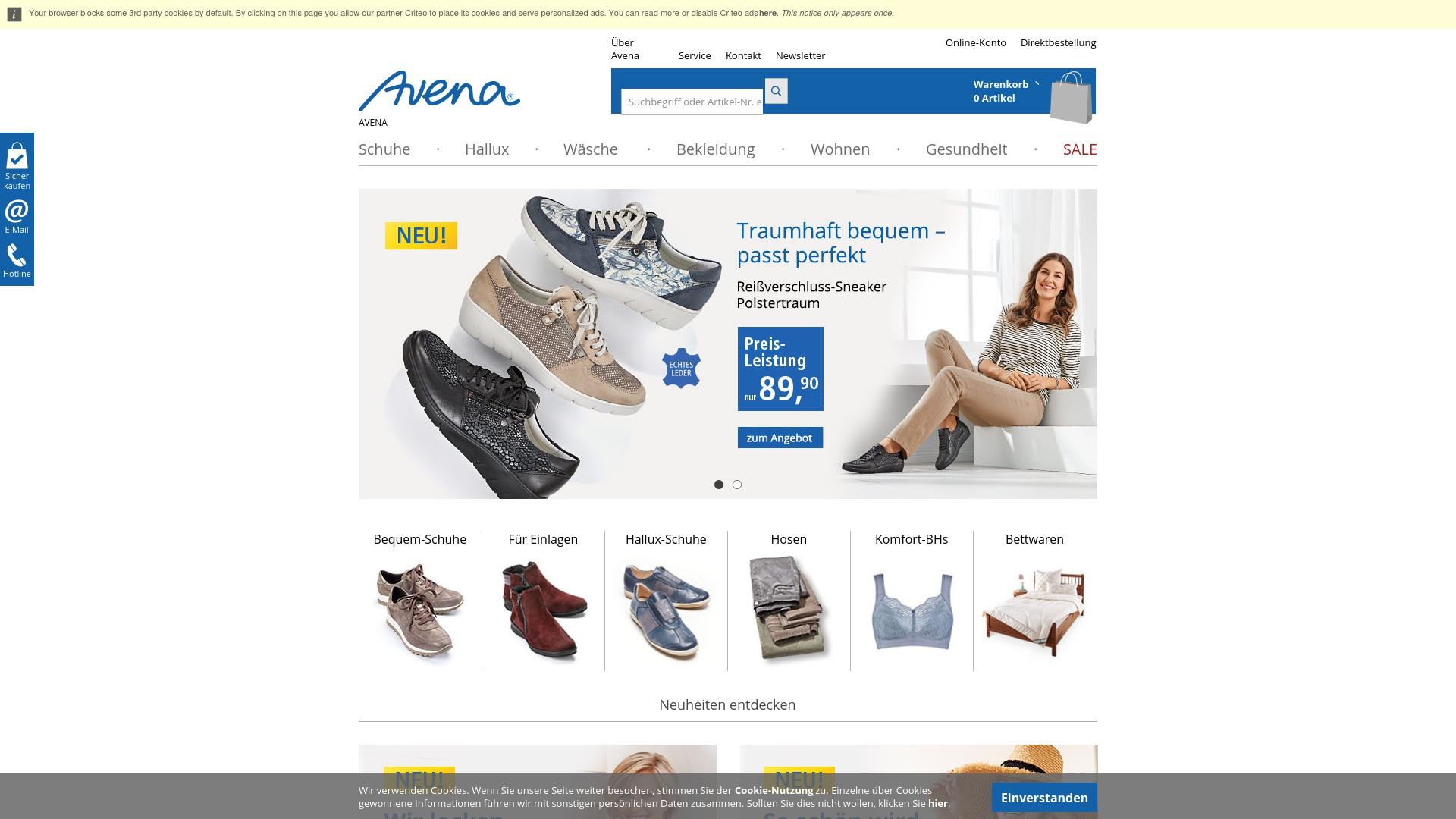 Gutschein für Avena: Rabatte für  Avena sichern