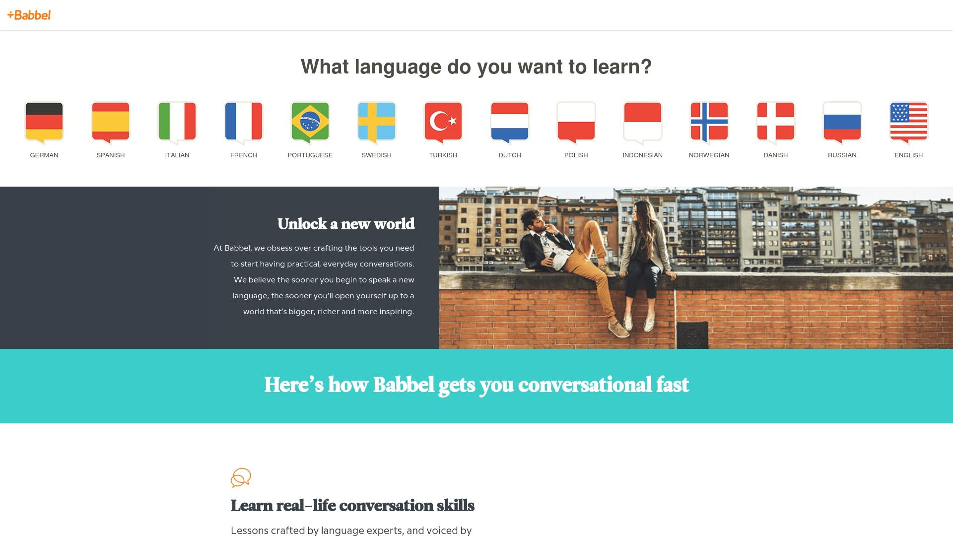 Gutschein für Babbel: Rabatte für  Babbel sichern
