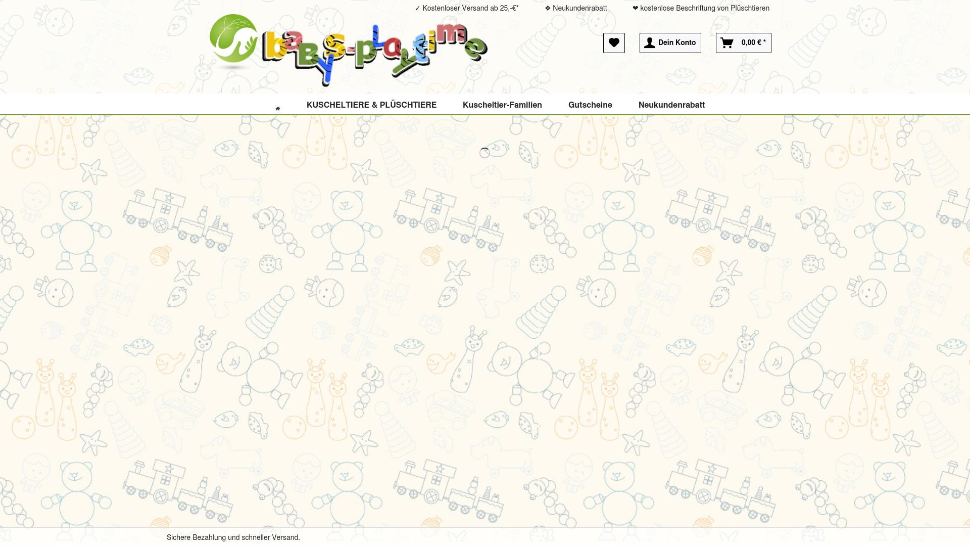 Gutschein für Babys-playtime: Rabatte für  Babys-playtime sichern