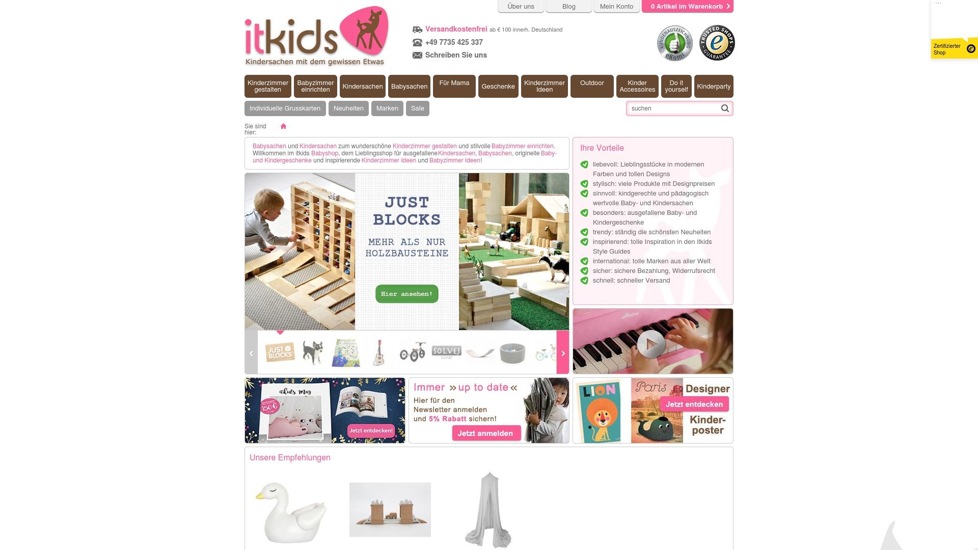Gutschein für Babyshop-itkids: Rabatte für  Babyshop-itkids sichern