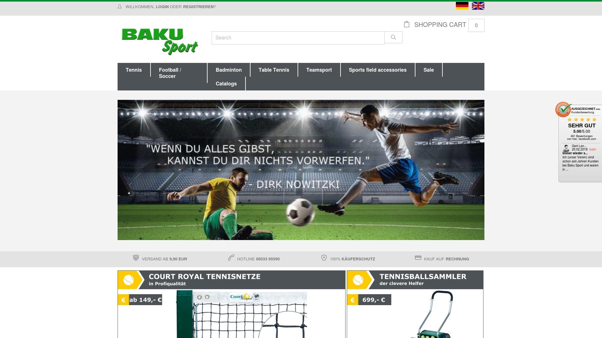 Gutschein für Baku-sport: Rabatte für  Baku-sport sichern