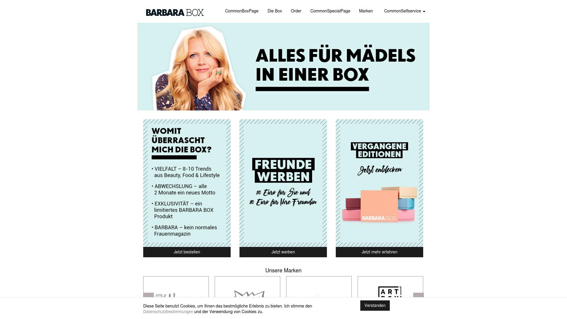 Gutschein für Barbara-box: Rabatte für  Barbara-box sichern