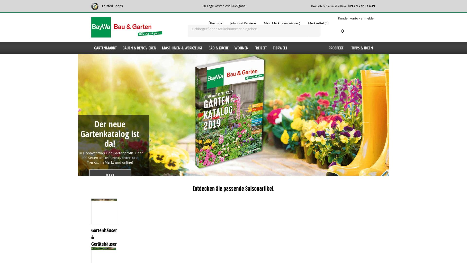 Gutschein für Baywa-baumarkt: Rabatte für  Baywa-baumarkt sichern