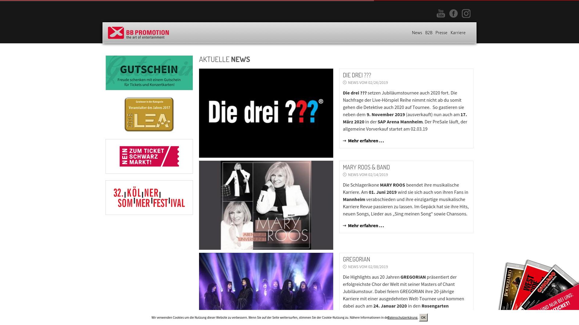 Gutschein für Bb-promotion: Rabatte für  Bb-promotion sichern