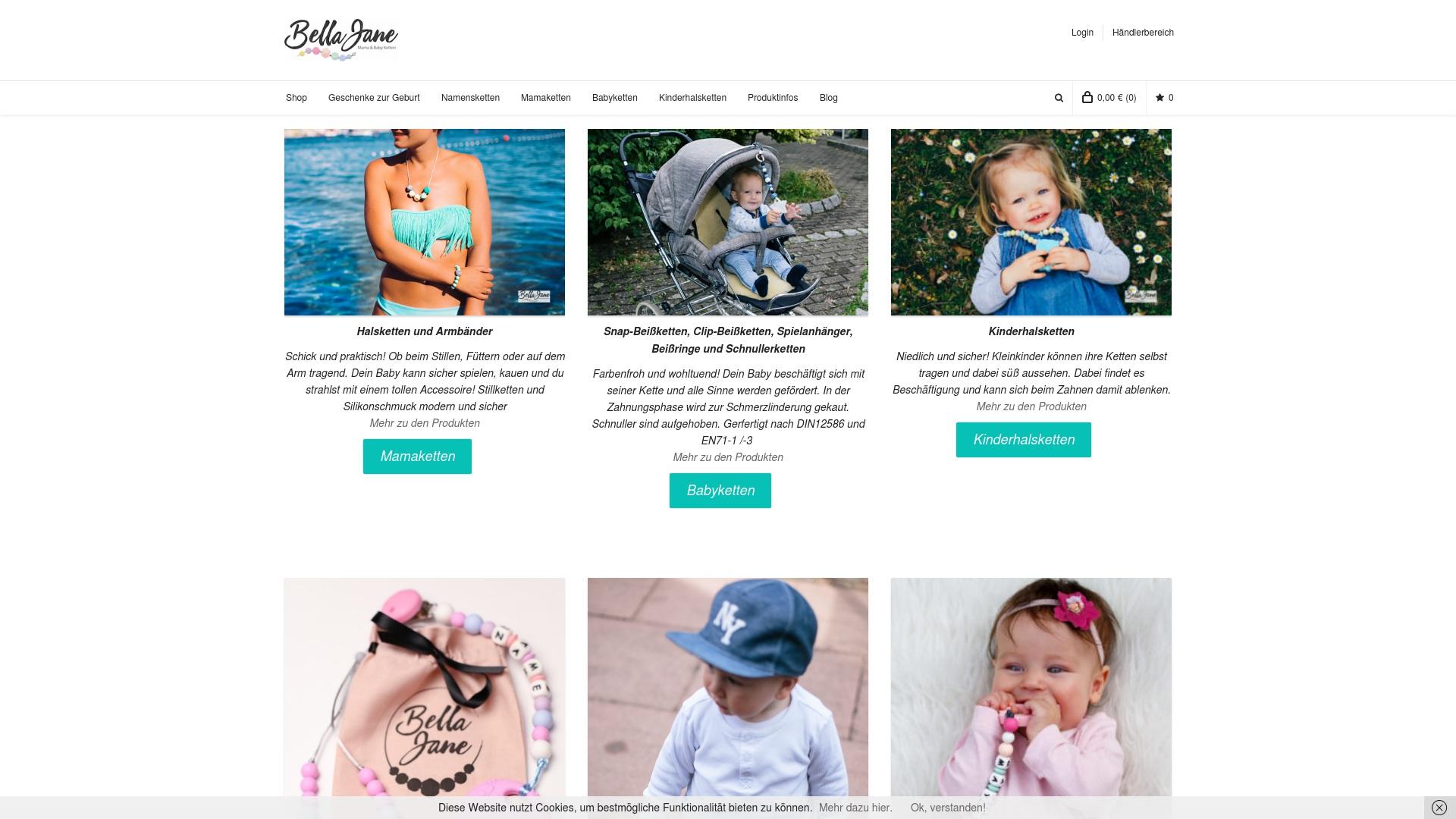 Gutschein für Bellajane-babyshop: Rabatte für  Bellajane-babyshop sichern