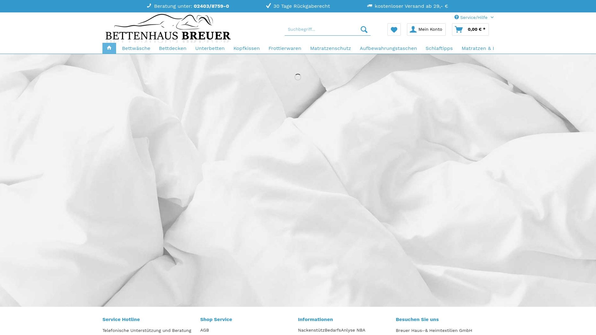 Gutschein für Bettenhaus-breuer: Rabatte für  Bettenhaus-breuer sichern