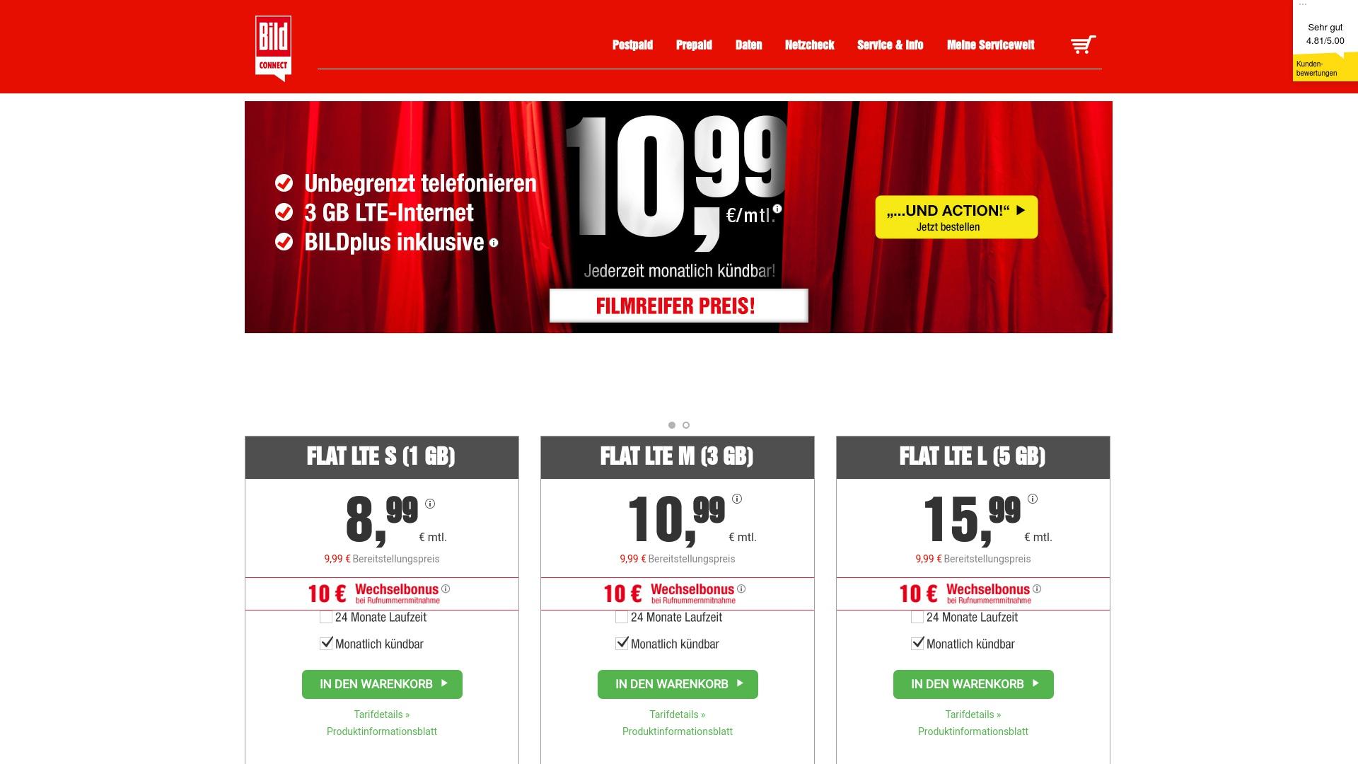 Gutschein für Bildconnect: Rabatte für Bildconnect sichern