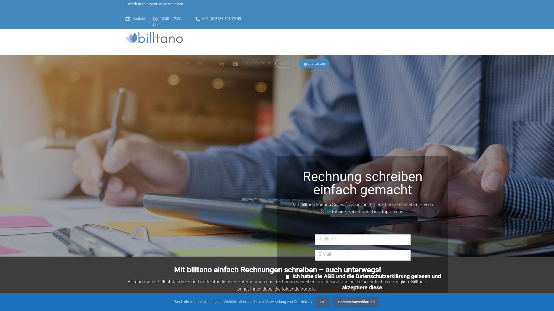 Gutschein für Billtano: Rabatte für  Billtano sichern