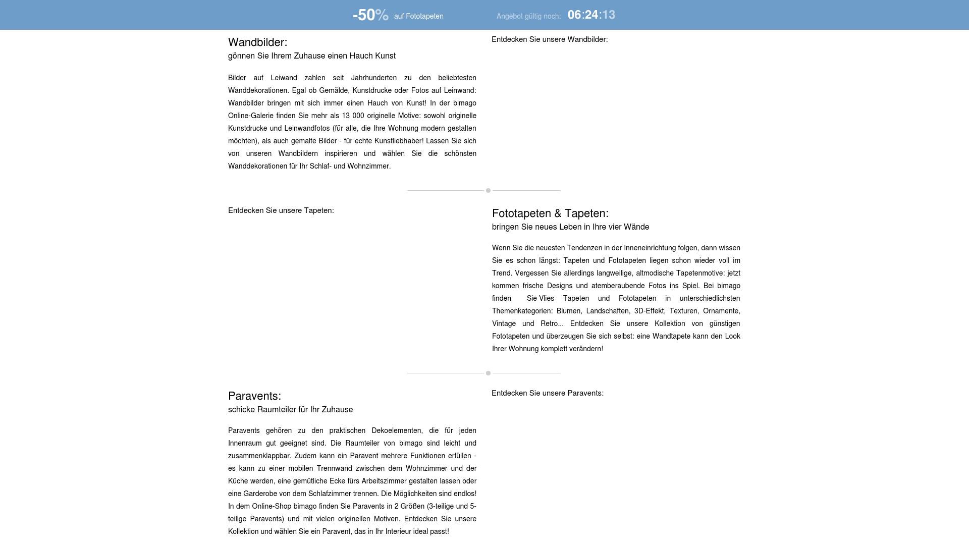 Gutschein für Bimago: Rabatte für  Bimago sichern