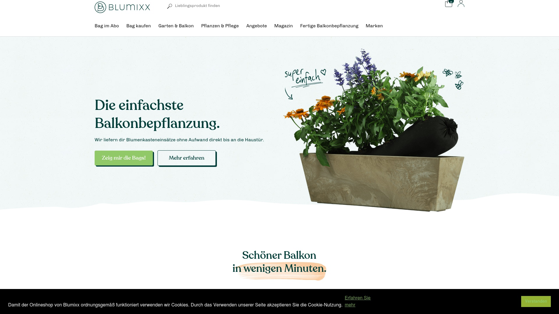 Gutschein für Blumixx: Rabatte für  Blumixx sichern