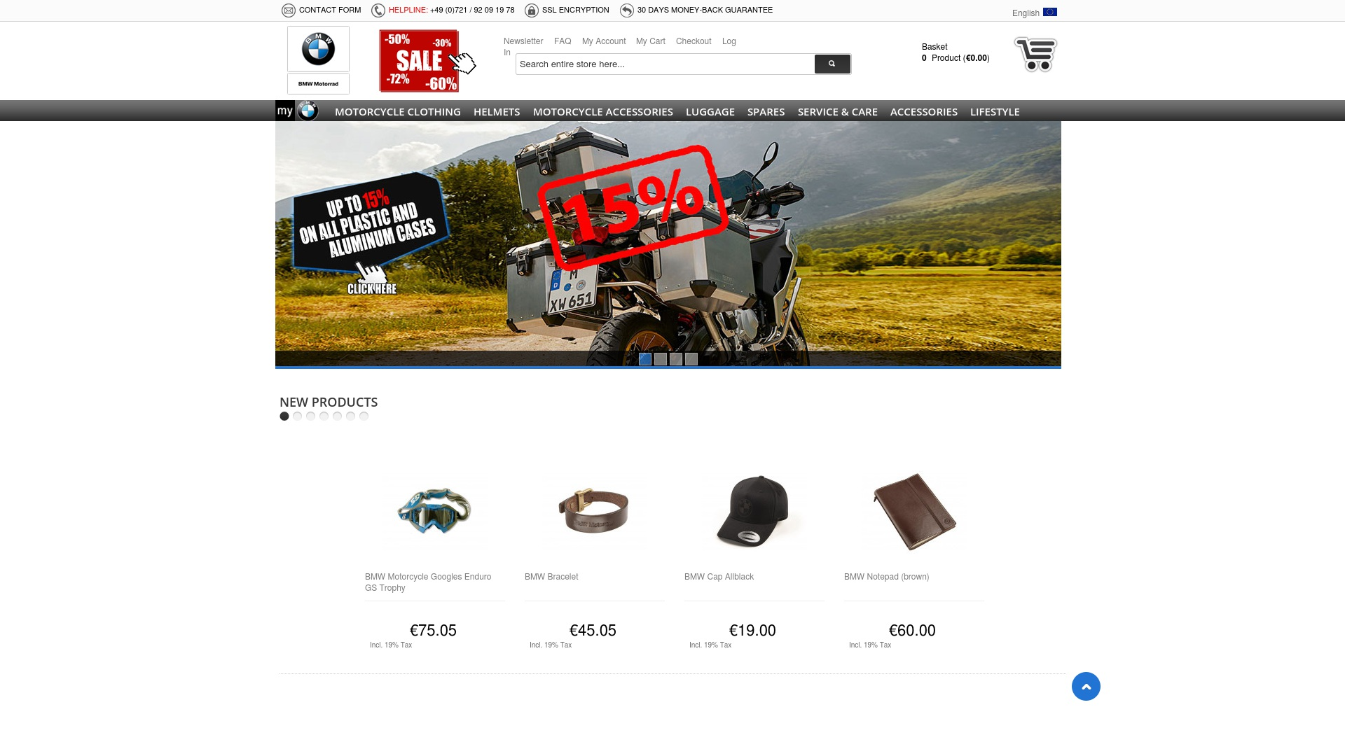Gutschein für Bmw-motorrad-bohling: Rabatte für  Bmw-motorrad-bohling sichern