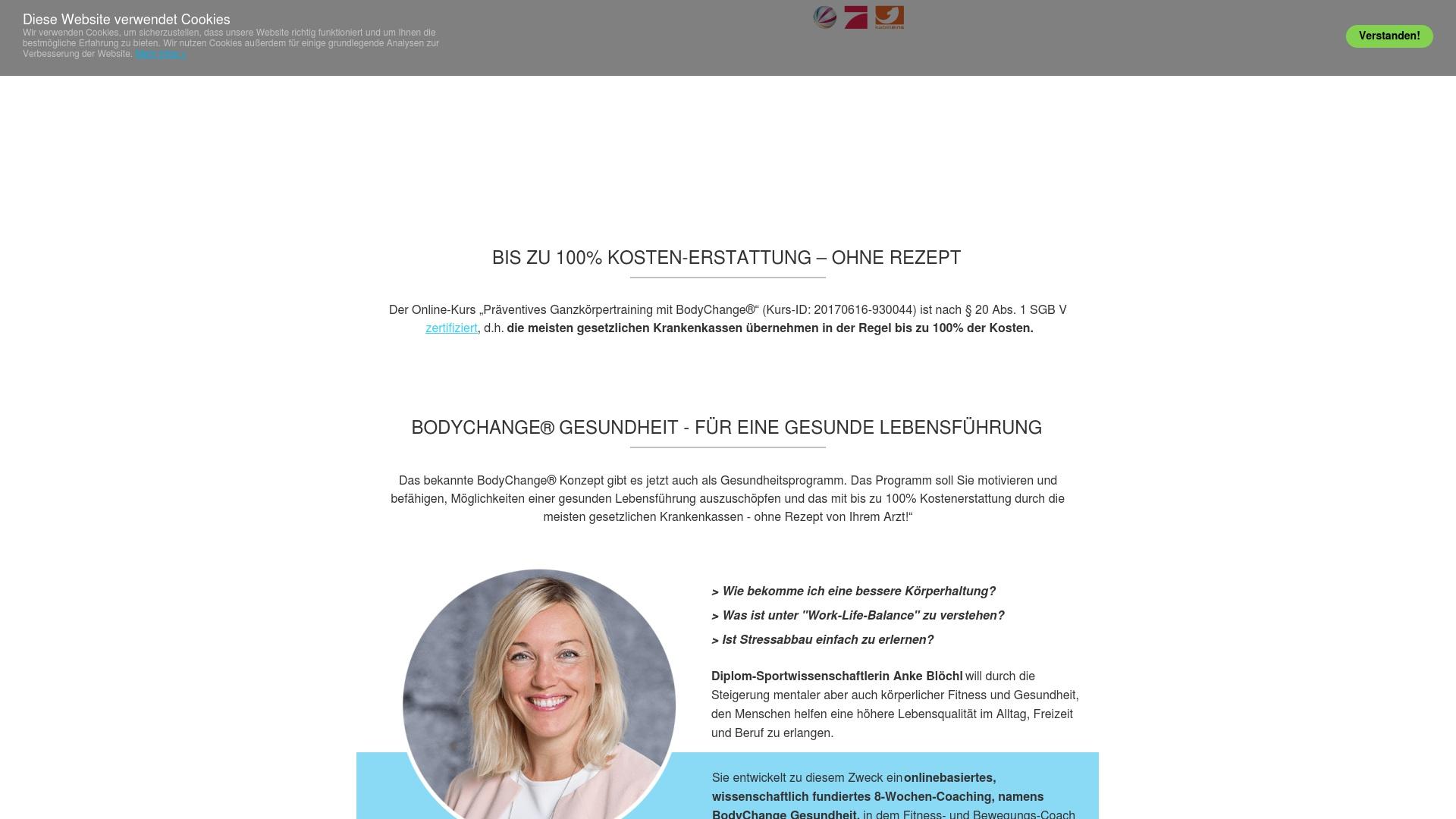 Gutschein für Body-change: Rabatte für  Body-change sichern