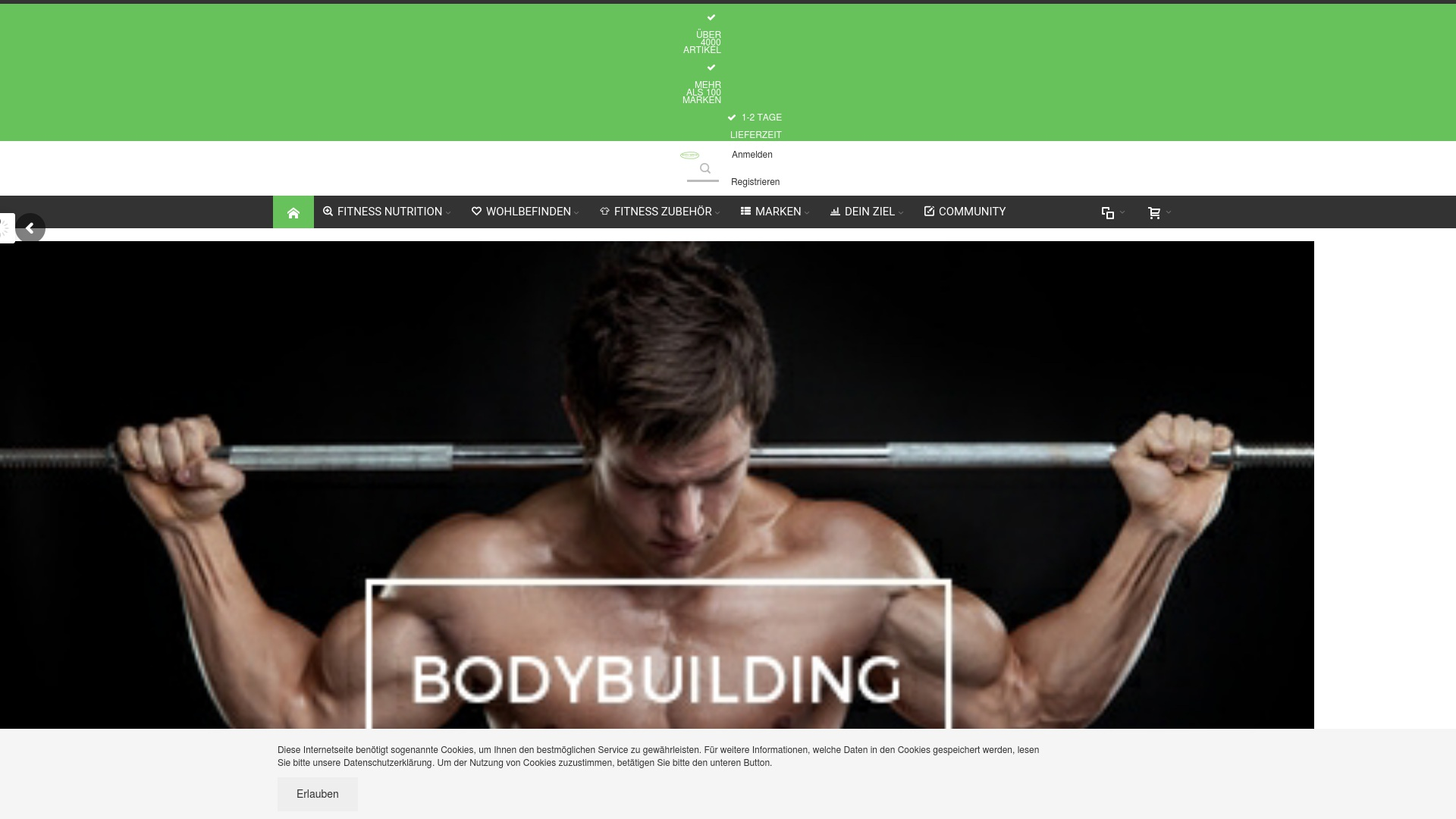 Gutschein für Bodygains: Rabatte für  Bodygains sichern