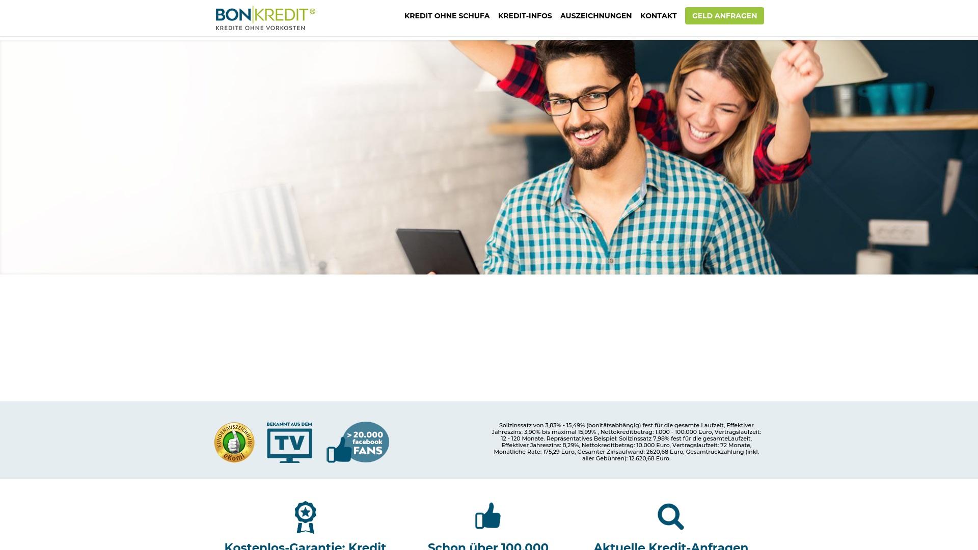 Gutschein für Bon-kredit: Rabatte für  Bon-kredit sichern