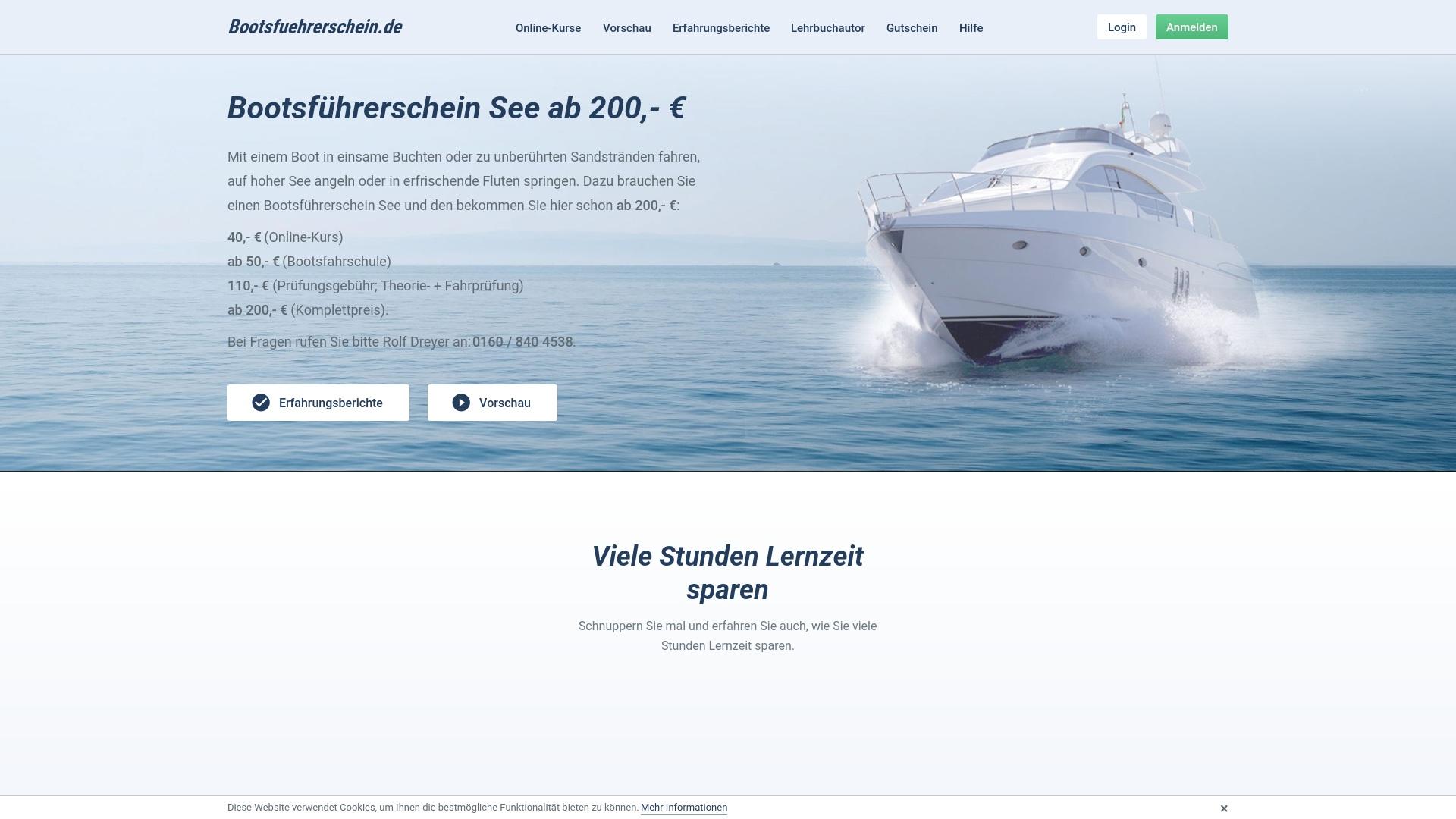 Gutschein für Bootsfuehrerschein: Rabatte für  Bootsfuehrerschein sichern