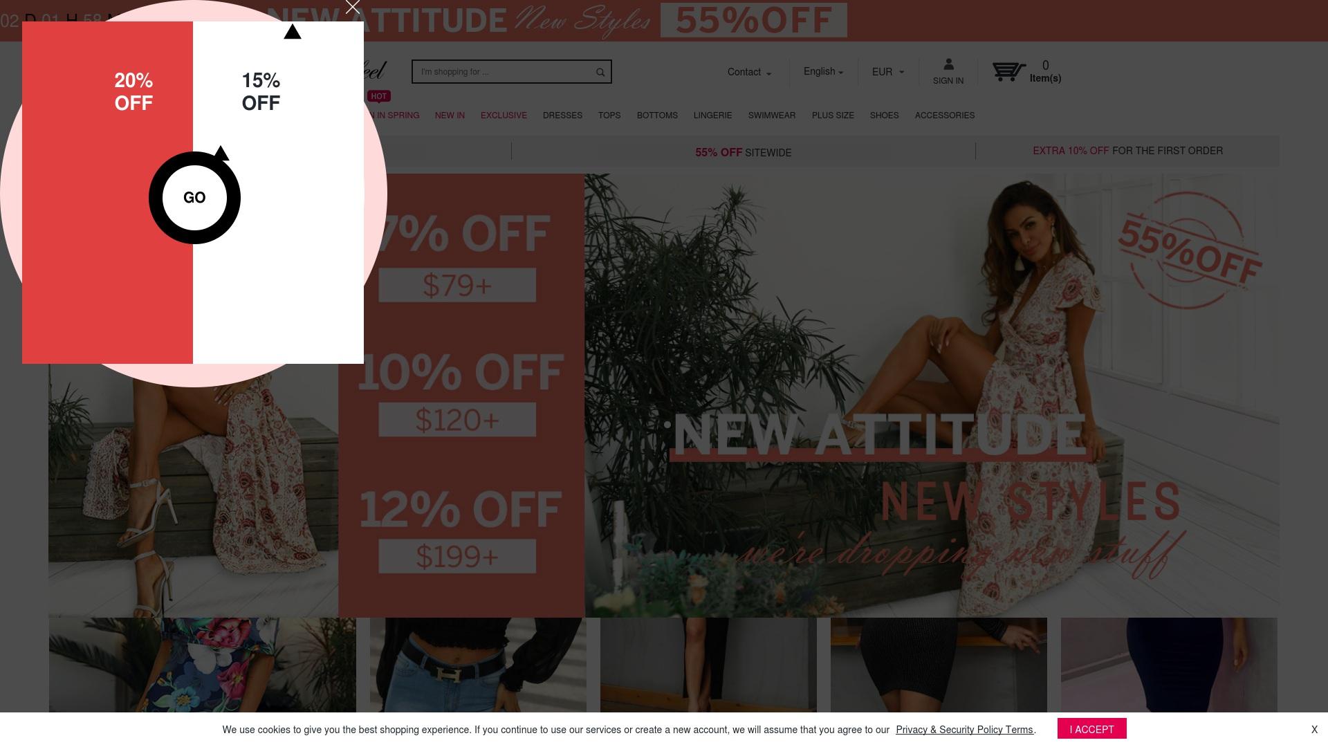 Gutschein für Boutiquefeel: Rabatte für  Boutiquefeel sichern