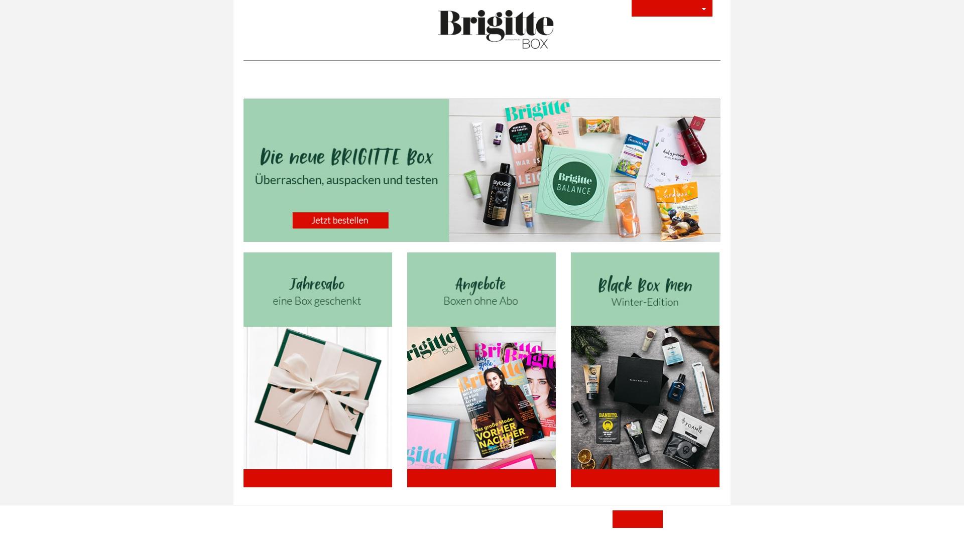 Gutschein für Brigittebox: Rabatte für  Brigittebox sichern