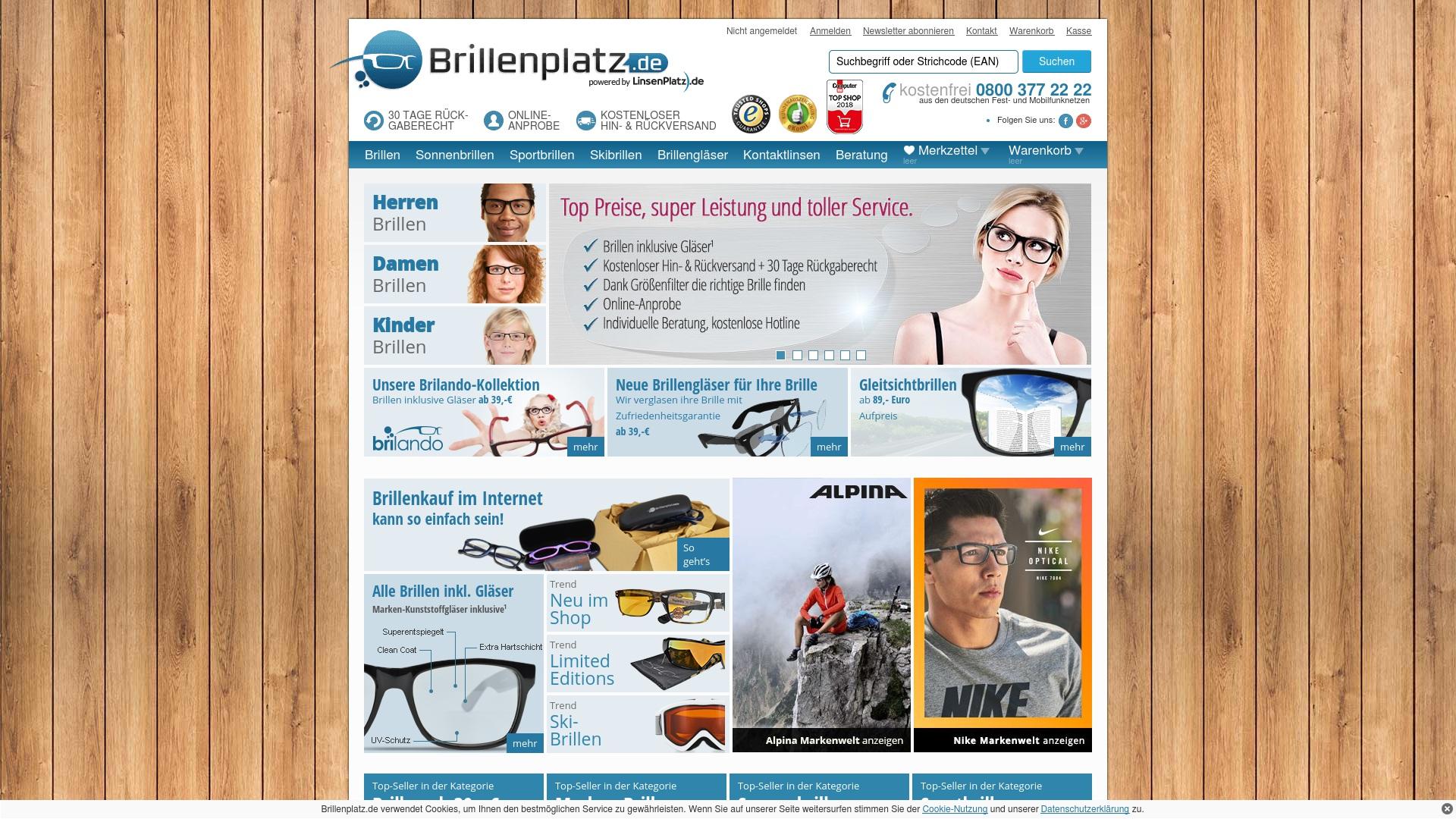 Gutschein für Brillenplatz: Rabatte für  Brillenplatz sichern