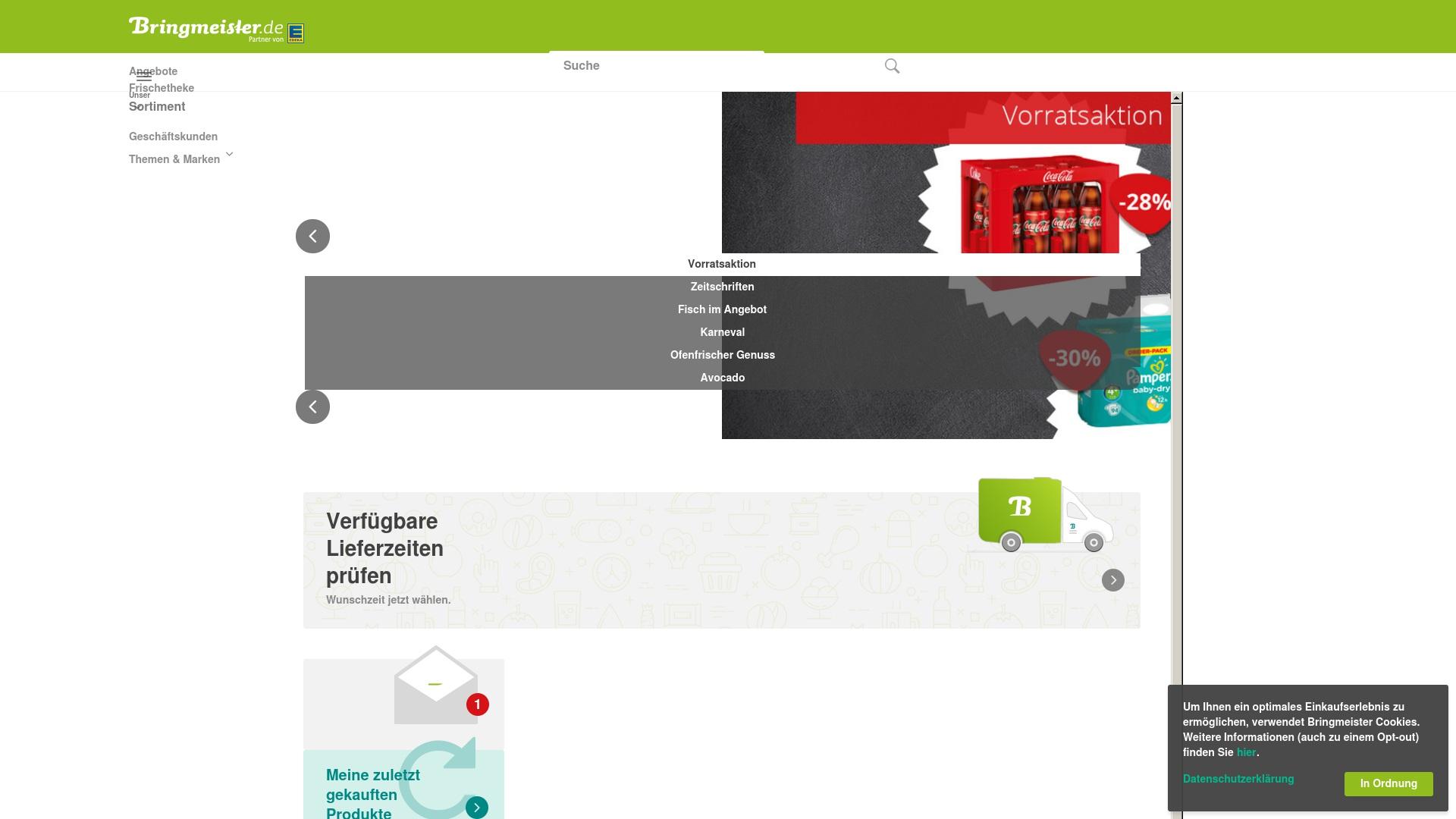Gutschein für Bringmeister: Rabatte für  Bringmeister sichern
