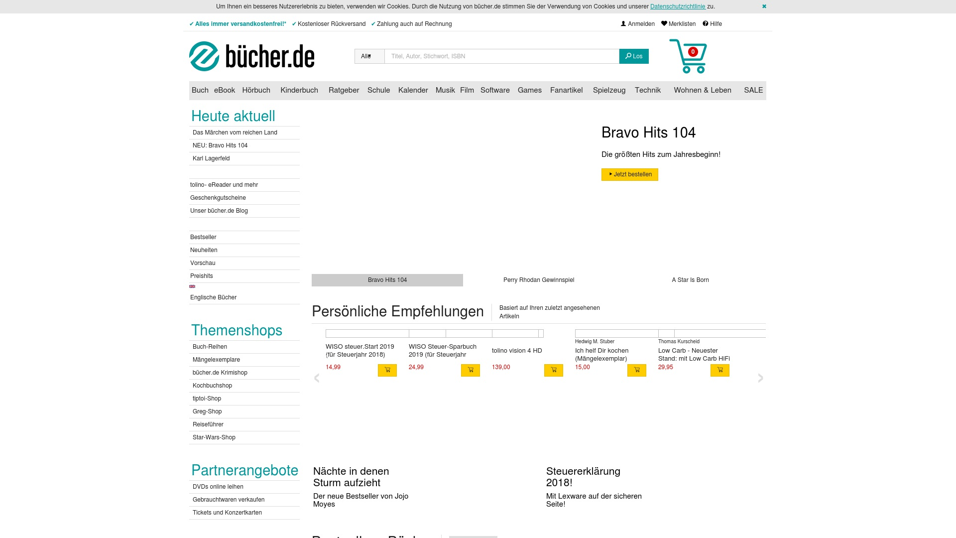 Gutschein für Buecher: Rabatte für  Buecher sichern