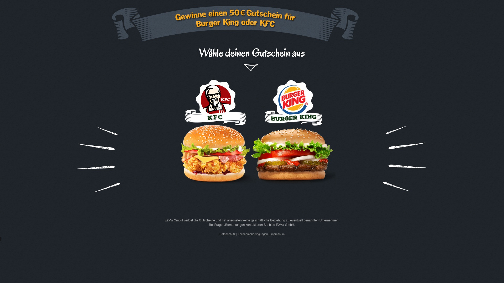 Gutschein für Burger-gewinnen: Rabatte für  Burger-gewinnen sichern