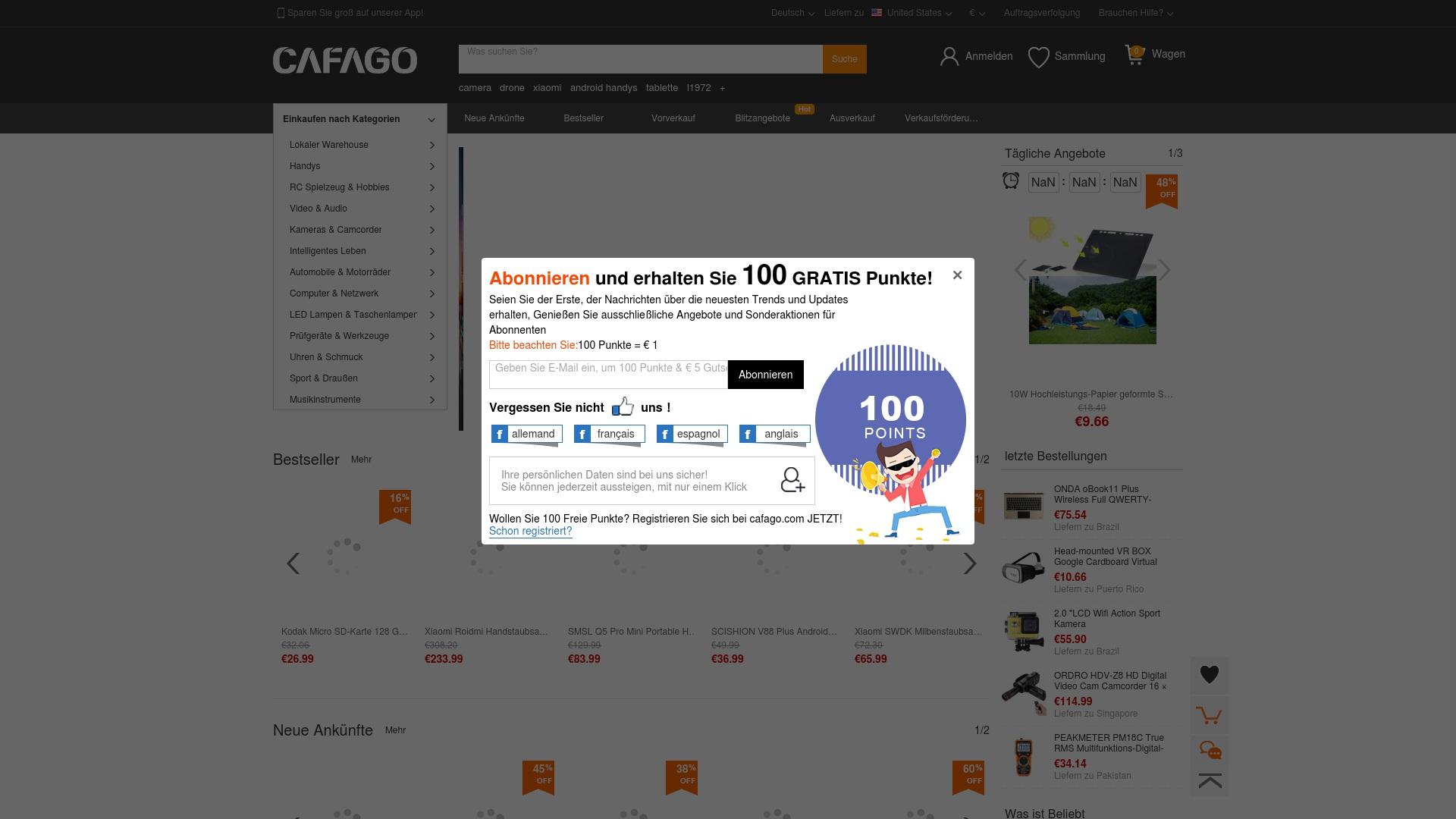 Gutschein für Cafago: Rabatte für  Cafago sichern